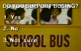 Do Blacks Support Busing
