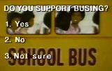 Do Blacks Support Busing