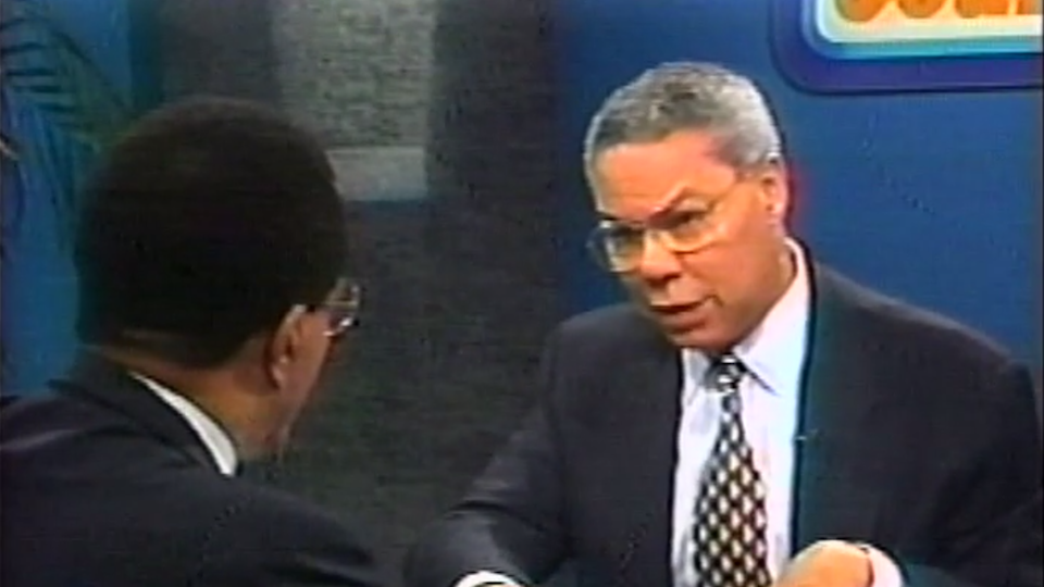 A Rap with Colin L. Powell