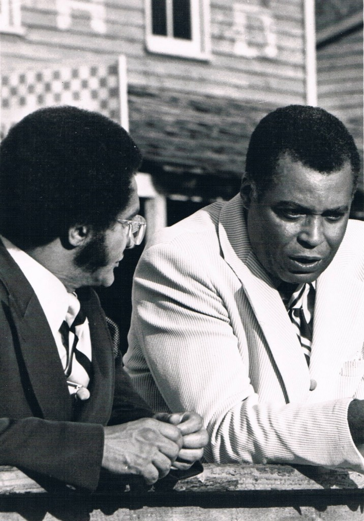 James Earl Jones and Tony Brown