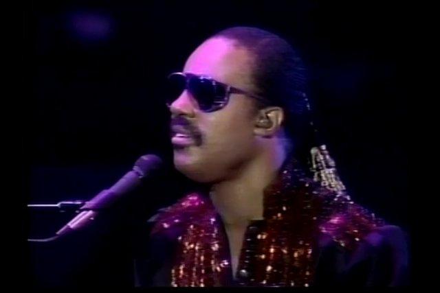 Stevie Wonder Plays His Own Keys of Life
