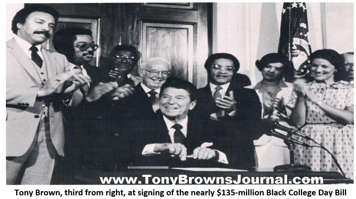 TB Reagan signing bill