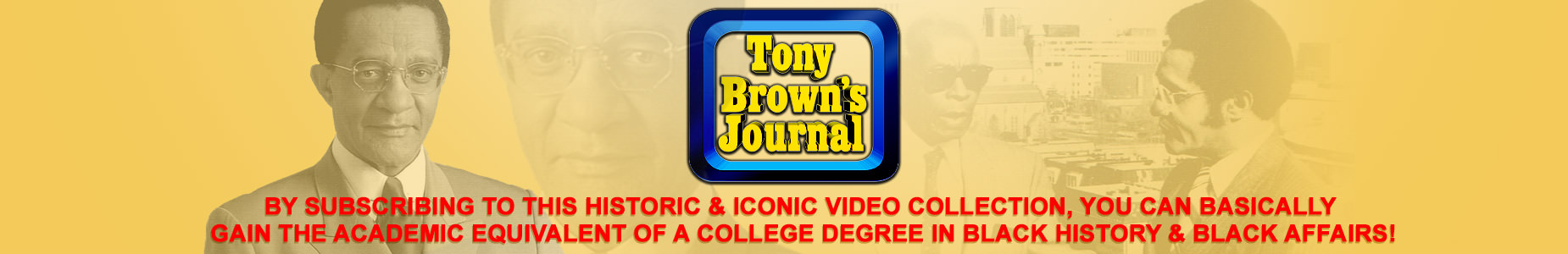 Tony Browns Journal
