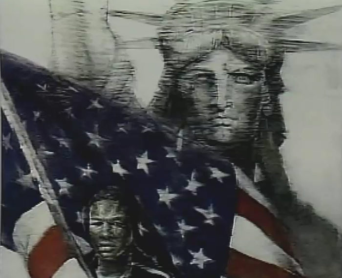 July 4 — Tear On The Face of America
